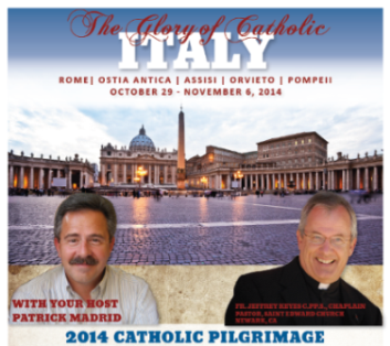 Join Patrick on his pilgrimage to Rome, 2014